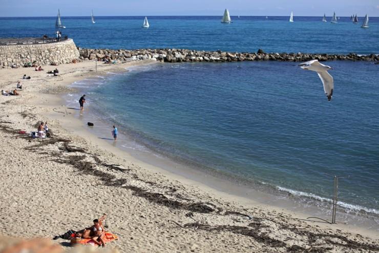 'sail'. antibes, provence